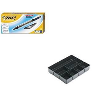 KITBICFPIN11BERUB11906ROS - Value Kit - BIC Intensity Permanent Pen (BICFPIN11BE) and Rubbermaid Extra Deep Desk Drawer Director Tray (RUB11906ROS)