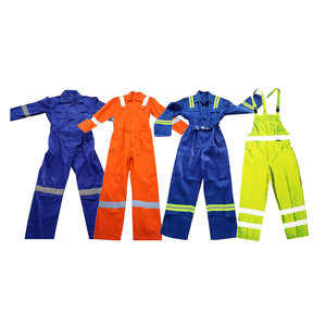 Men and Women Long Sleeve Cotton Poly Blended Coverall Mining Work Clothes Mining Protective Clothing