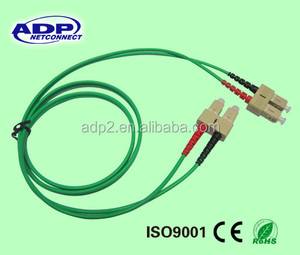 2017 wholesale cheap selling ADP SC-SC fiber optic patch cord with LC FC ST SC UPC SM MM