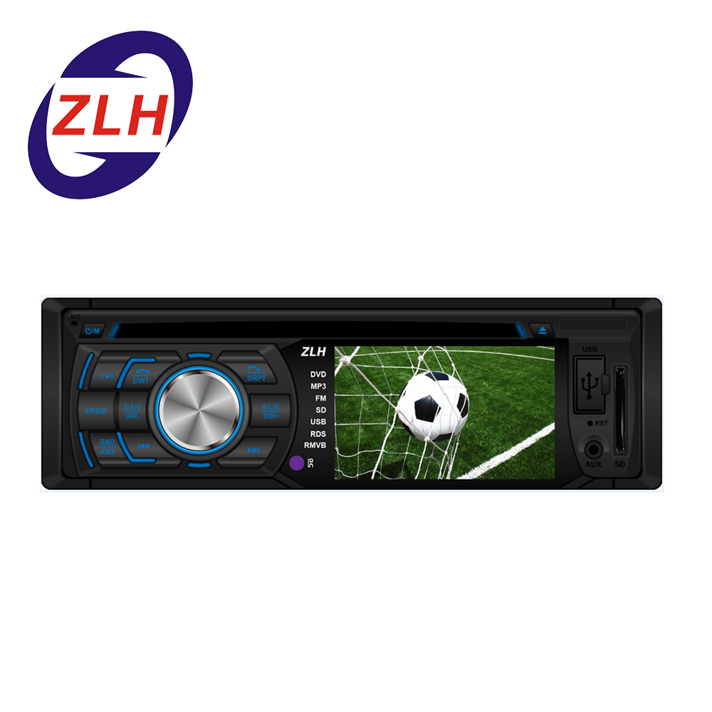 New Models Fixed Panel Car Cd Dvd Player 3 Inch Car Audio Video With on