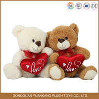 Wholesale birthday gift giant teddy bears plush toy from guangzhou factory