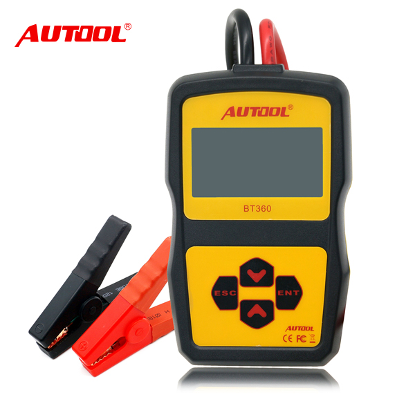 Autool BT360 Multi-language 12v CCA Battery Tester for Auto/car/Vehicle Tools