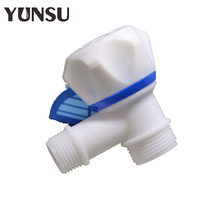 Hot Sell single handle pp plastic angle stop water valve from China