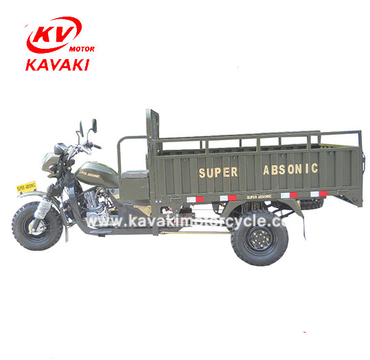 KAVAKI OEM 200CC Water Cooled Gas Powered Adult Tricycle Trike Tricycle Bike