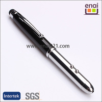 led torch light touch pen with nice design high quality and easy to carry