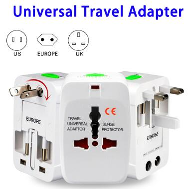 International Travel Protable Universal World USB Travel Adapter UC04
