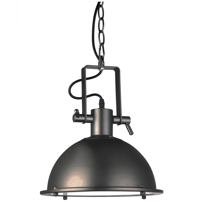 """VONN VVP21021BZ Industrial 11"""" LED Pendant Light, Industrial Pendant Lighting, Adjustable Hanging Light, Dorado Collection, Architectural Bronze"""