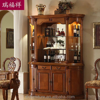 Wooden flooring liquor cabinet display cabinet living room for Armoire de salon moderne