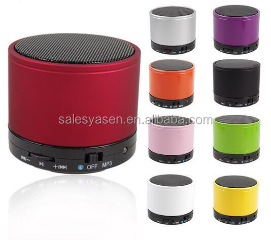 New Mini S10 Bluetooth Speaker Portable mini bluetooth speaker Support Handsfree call With Built-in Battery