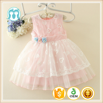 New Model Puffy Girls Angel Dress Names With Pictures Cotton Lovely Pink  Baby Dresses Girls - Buy Names Of Girls Dresses,Fashion Store Dress