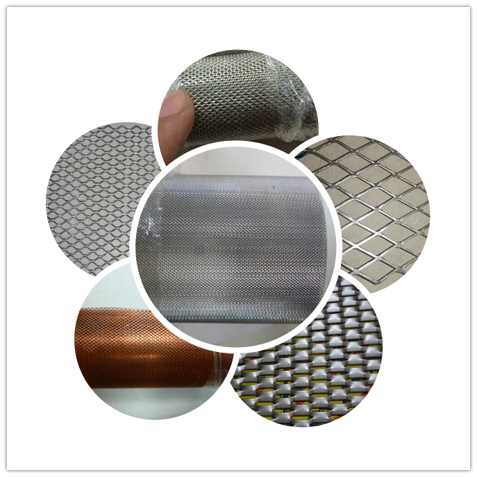 High Quality aluminum titanium nickel copper Micropore expanded metal mesh for battery