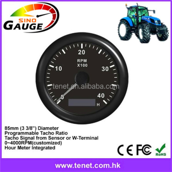 Tachometer For Tractor/engine Hour Meter Integrated Hall Effect Speed  Sensor Support - Buy Diesel Engine Tachometer,Tractor Tachometer,Tachometer