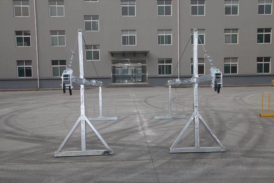 Aluminum Alloy ZLP630 Suspended Platform no counterweights work gondola