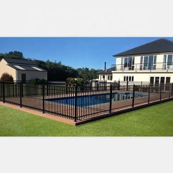 Hot Sales Galvanized Steel Fence Safety Swimming Pool Fence Factory Metal  Fence - Buy Swimming Pool Fence,Safety Fence,Galvanized Steel Fence Product