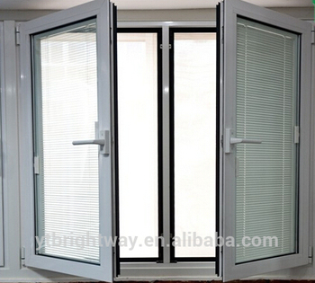 China Supplier Plantation Shutters Casement Windows With High Quality Aluminum Hinged Price Gl