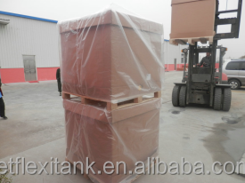 folding Paper Ibc with food grade liner for liquid transport