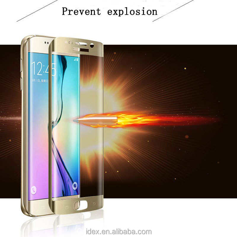 2016 new hot 9H hardness korea screen protector for samsung galaxy s6 edge