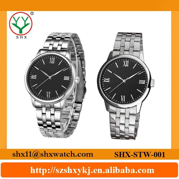 Professional factory wholesale cheap stainless steel watches