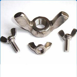 All kinds of DIN316 Stainless steel M8 wing nut screw
