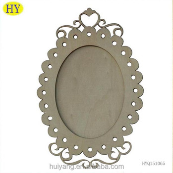 Classicism Oval Shape Wooden Photo Frames For Decoration - Buy ...
