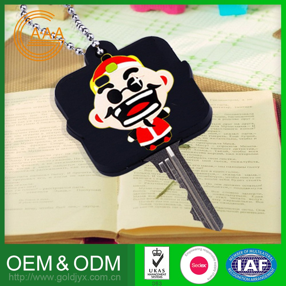 Wholesale Oem Design Silicone Key Case Eco-Friendly Soft Car Key Cover