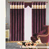 Romantic chenille style flannelette fabric curtain for villa bedroom