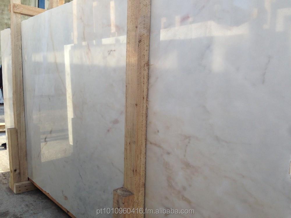 ألواح الرخام Estremoz الأبيض وكريم رخام روزا أورورا رخام معرف