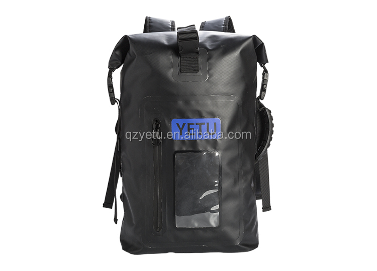 30L Nylon Roll Top Camping Hiking 100% Waterproof Dry Pack Backpack