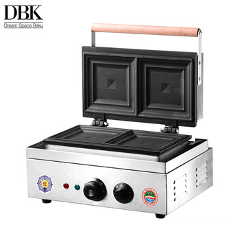 DBK Automatic Commercial Grill Sandwich Making Machine for pressing sandwich