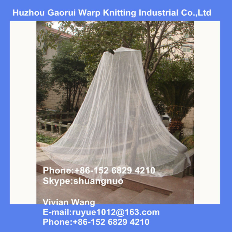 conical mosquito nets round bed canopy