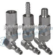 ZJ-19 stainless steel hose tail air quick coupler