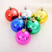 Wholesale colorful shatterproof Christmas tree ornament giant christmas tree plastic ball