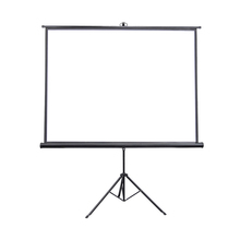 Mat <span class=keywords><strong>Wit</strong></span> Materiaal Draagbare Indoor/Outdoor Projectiescherm Statief Staande Projector Screen