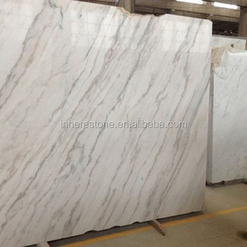 Natural Stone Polished White Marble Tilefactory Produced White