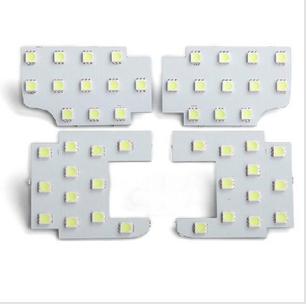 4 шт. лампа автомобилей из светодиодов освещение карта огни украшения для MAZDA cx-5 cx5