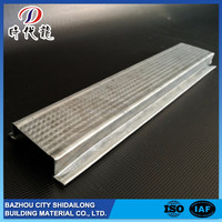 Profession manufacturer top quality high security metal building steel c channel