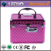 latest products in market hard shell beauty case wooden cosmetic box makeup case