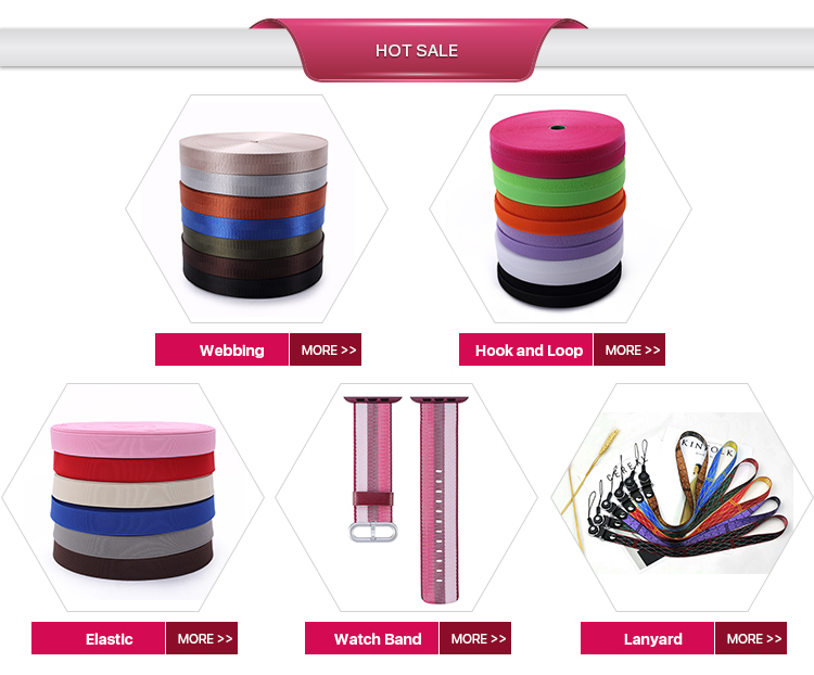 High Quality Best Price Nylon Patterned Webbing Jacquard weave ribbon for Sale