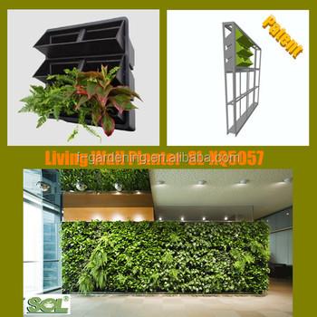 Garden Wall Covering Vertical Hanging Garden Planter Plastic Garden Walls