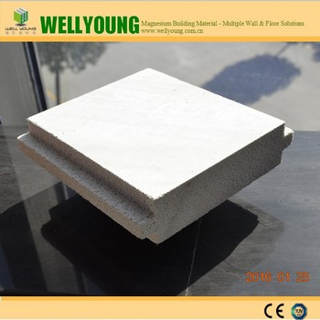 Precast concrete eps fireproof thermal insulation foam for Concrete foam walls