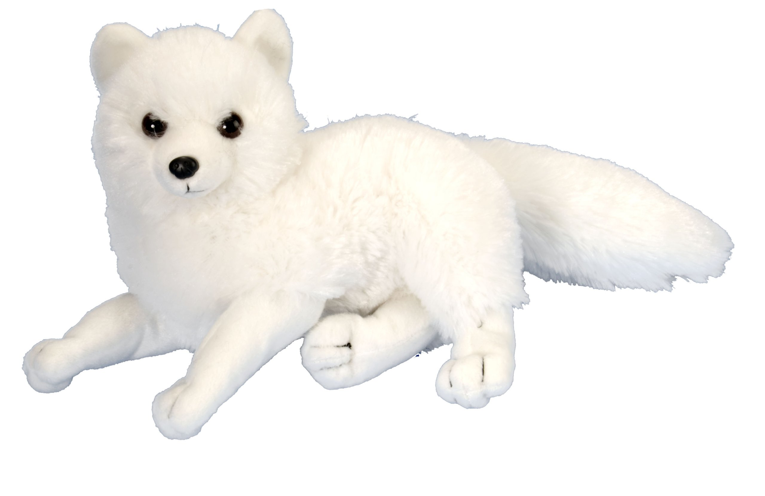 "Wild Republic 12269 Arctic Fox Plush, Stuffed Animal, Plush Toy, Cuddlekins; 8"""