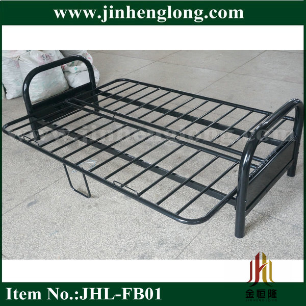 Metal Folding Futon Sofa Bed