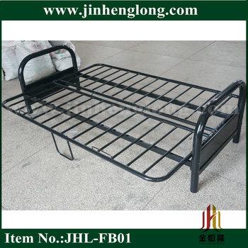 Metal Folding Futon Sofa Bed View