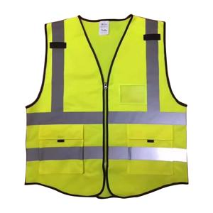 Fujian reflective running vest high visibility clothing
