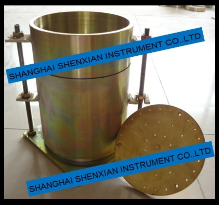 Soil Test Mould Solid plate Performated Plate CBR Swell TEST