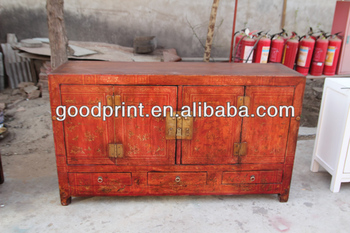Chinese Antique Reproduction Furniture Printing Cabinet