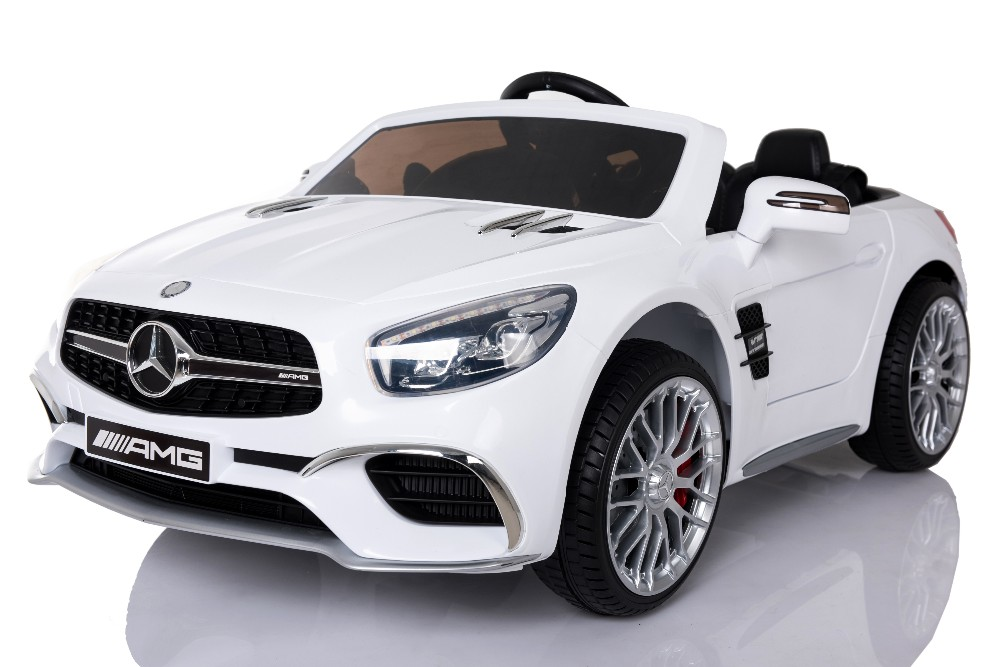 Kids Electric Car For Rechargeable Battery Operated Licensed Mercedes Benz