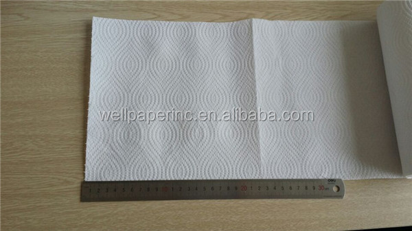 disposable cheaper 2 Ply round Kitchen Paper Towel