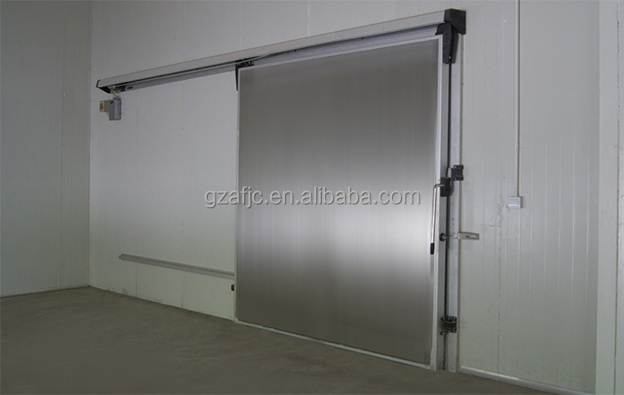 100mm Sliding Cold Storage Room Door Guangzhou Cold Room