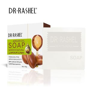 Wholesale DR RASHEL Skin Care Natural Organic Firming Lifting Handmade Moroccan Argan Oil Soap